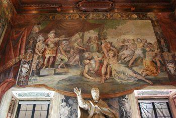 Orazi e Curiazi Roma-musei-capitolini-affreschi