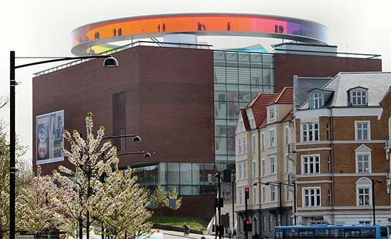 città europee Aarhus-museo-ARoS