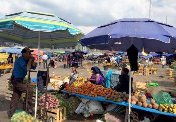 Chamula Bancarelle-al-mercato