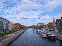Bydgoszcz, in canoa sul fiume Brda