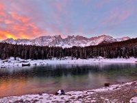 Il famoso lago di Carezza
