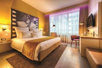 Nyx Hotel Milano 4 stelle stanza