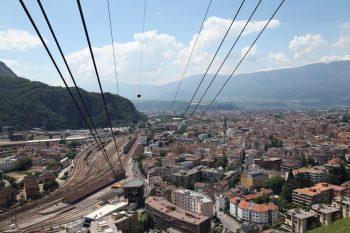 Altipiano del Renon panorama e funivia