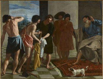 Da Caravaggio a Bernini Tunica-di-Giuseppe