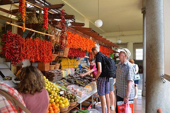 Arcipelago di Madeira Funchal-Market-Mercado-dos-Lavradores