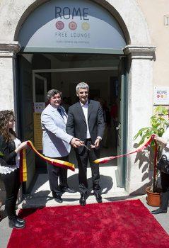 Inaugurazione Rome Free Lounge