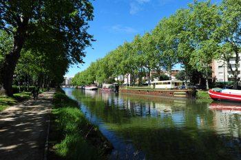 Tolosa Canal Du Midi