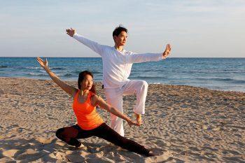 Vivosa ginnastica-in-spiaggia