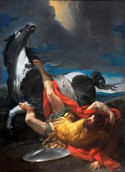 Da Caravaggio a Bernini conversione-de-saulo-di-guido-reni