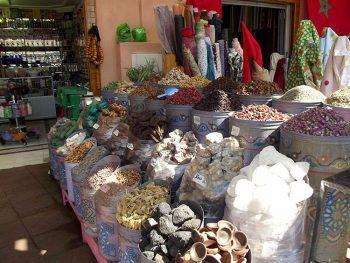 Marrakech, negozio di spezie