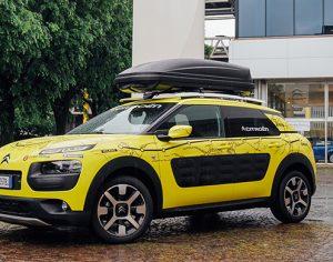 Citroën C4 Cactus, rivive l' Avventura Gialla