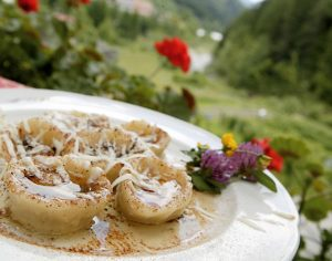 Cjarsòns piatto della tradizione culinaria della Carnia