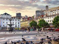 Lisbona, quartiere Baixa