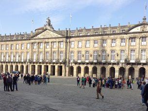 Santiago de Compostela, Palazzo Raxoi sede del municipio