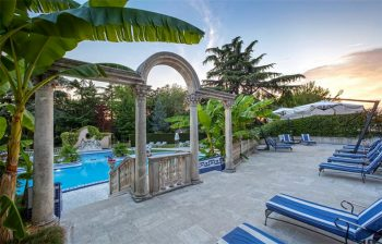 Terme Euganee Abano-Ritz-piscine