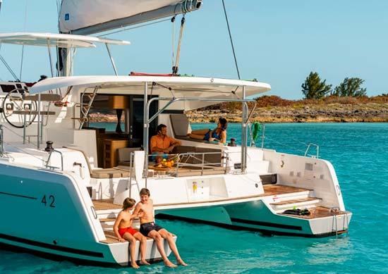 Barca Croazia-catamarano