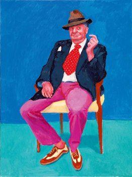 David-Hockney,-Barry-Humphries-©-David-Hockney