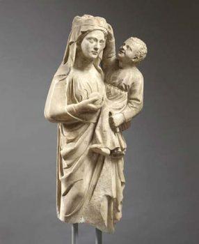 La Bellezza ritrovata Madonna-con-Bambino-Museo-del-Sannio-Benevento