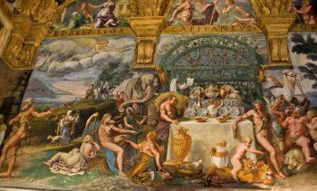 #Eat Mantua Palazzo-Te-il-banchetto-degli-dei
