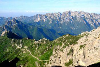 Pasubio Panorama-dal-Rifugio-Papa