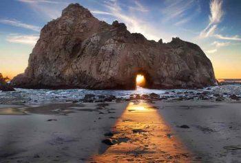 Vacanza California-Pfeiffer-Beach