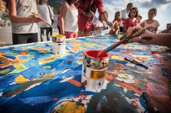 Camogli Festival-della-Comunicazione_laboratorio-di-pittura-(2)