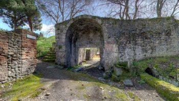 tomba La-Porta-Stabia-negli-scavi-di-Pompei