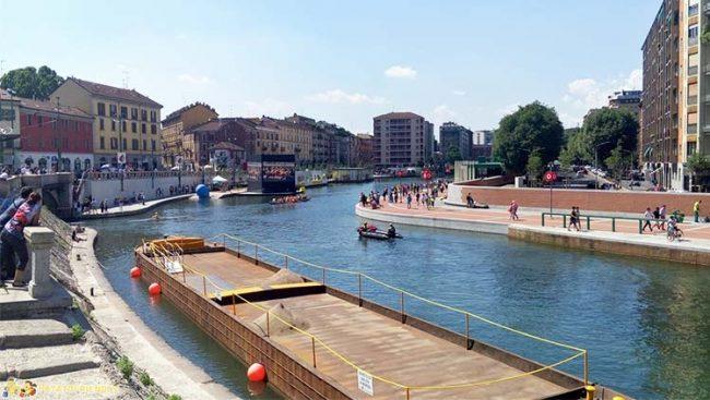Milano, la nuova Darsena a Porta Ticinese