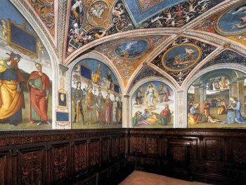 Il saio e la lince Perugia-sala-udienze-collegio-cambio