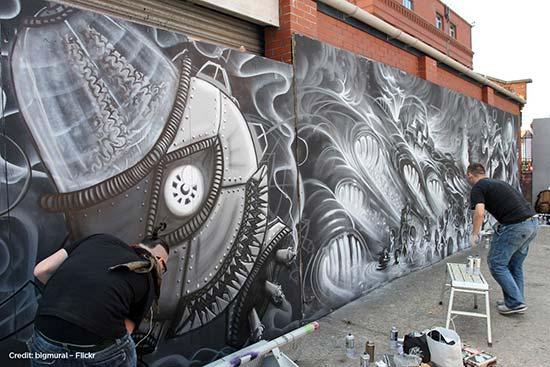 street art Regno-Unito-Upfest-Bristol