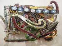 Frank Stella, Materiali vari su alluminio (Ph Giovanna Dal Magro © Mondointasca)