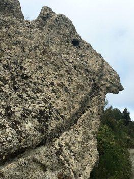 Ischia figure scolpite nella roccia dall'acqua e-dai-venti