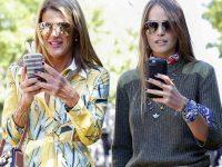 Moda Milano, Anna dello Russo e Carlotta Oddi (Fonte-La-Presse)