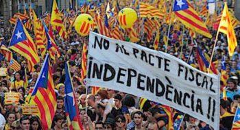 Razzismo Barcellona-in-piazza-per-l'indipendenza