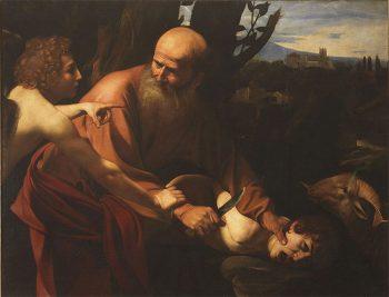Caravaggio a Milano Sacrificio di Isacco