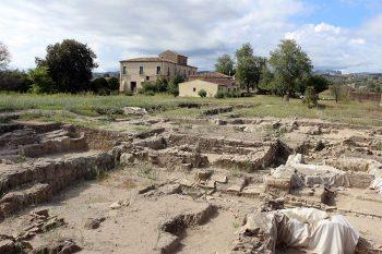 Calabria grecanica Locri-Epizefiri-scavo-archeologici