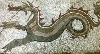Calabria grecanica Museo-Monasterace-mosaico-del-Drago