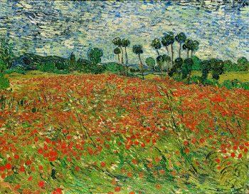 Van Gogh Vincent-van-Gogh,-Campo-di-papaveri,-1890,-olio-su-tela