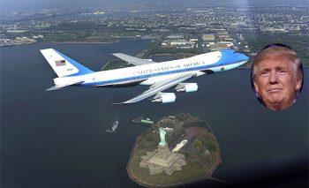 Viaggi e turismo Donald Trump e Air Force One