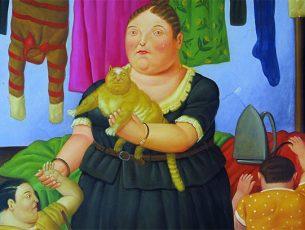 Le forme giunoniche di Botero a Verona