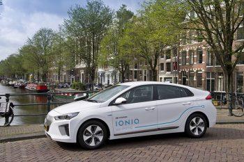 Car Sharing Hyundai-IONIQ Amsterdam