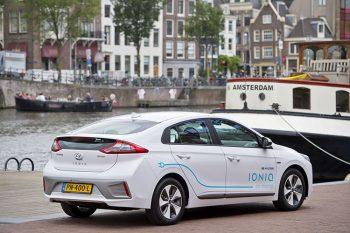 Car Sharing Hyundai-IONIQ Amsterdam2