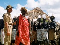 Imer Guala in Africa nel 1958