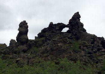 Natura Islanda-rocce vulcaniche