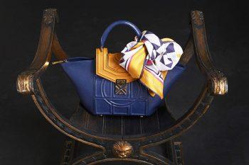 Capi e accessori Maison-Milano-Palladia-Blue-e-Foulard-Mosaic