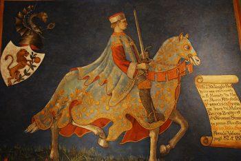 San Miniato affreschi sala del-consiglio