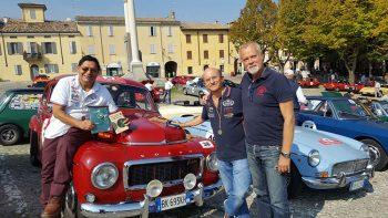 Parma-Poggio di Berceto con-l'amico-svedese