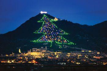 Umbria il tuo regalo di Natale albero-di-Gubbio