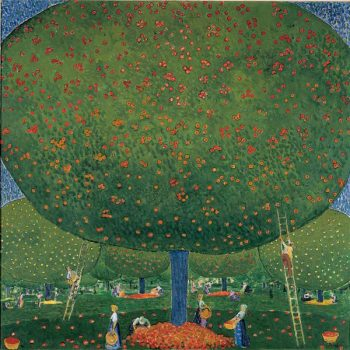 Cuno Amiet, La-raccolta-delle-mele-1907