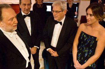 Prima alla Scala Elena-Boschi-con-Maestro-Jailly-e-il-sindaco-Sala